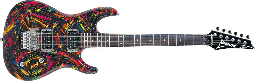 Ibanez JS4 signature Joe Satriani electric rainbow