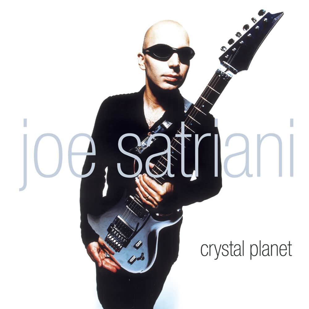 Joe Satriani Crystal Planet 1998 album CD
