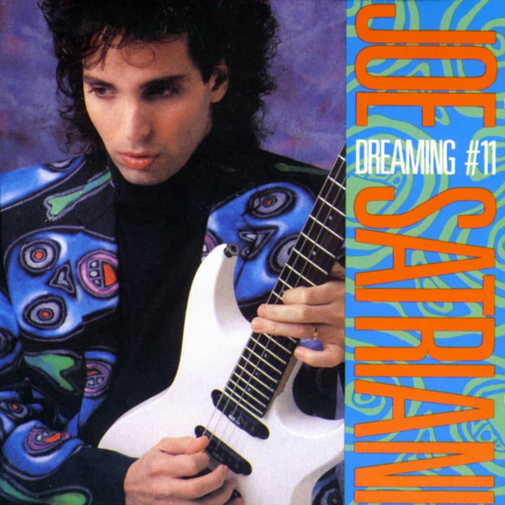 Joe Satriani Dreaming 11 EP 1988