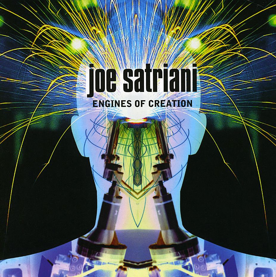 Joe Satriani Engines Of Creation 2000 album CD