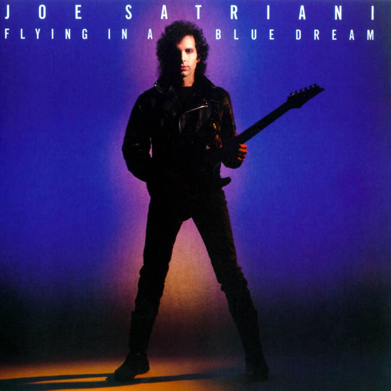 Joe Satriani Flying In A Blue Dream 1989 album CD
