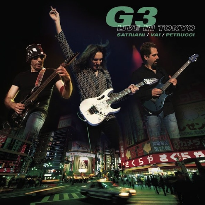 G3 Live in Tokyo Live Joe Satriani Steve Vai John Petrucci 2005