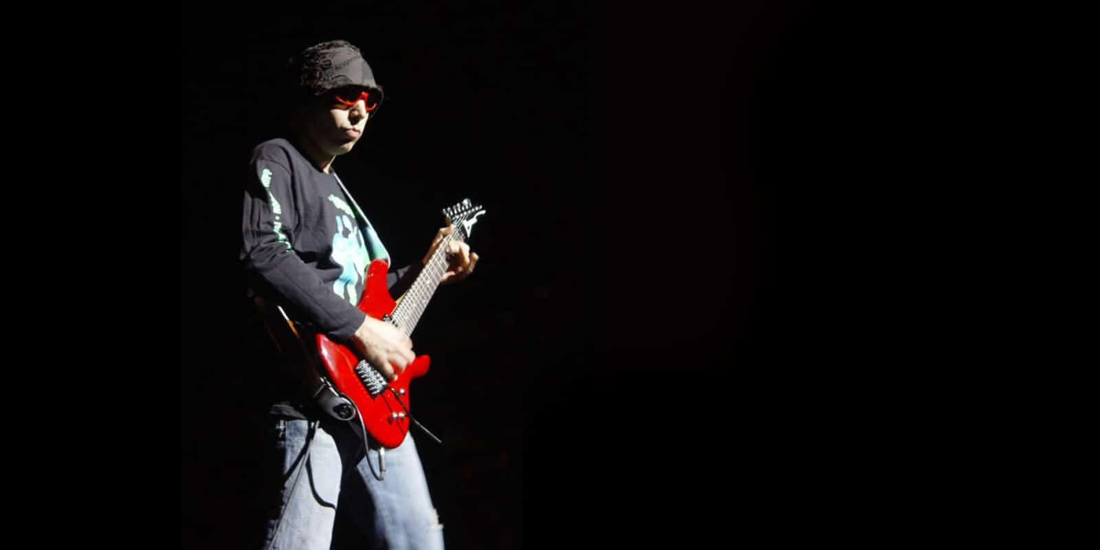 Interview Joe Satriani India