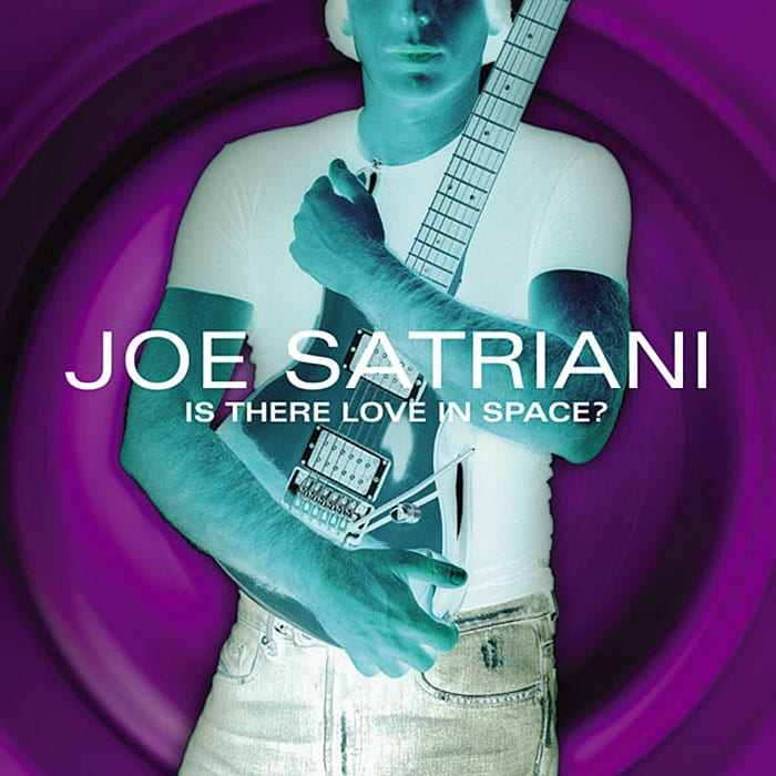 Joe Satriani Is There Love In Space 2004 album CD