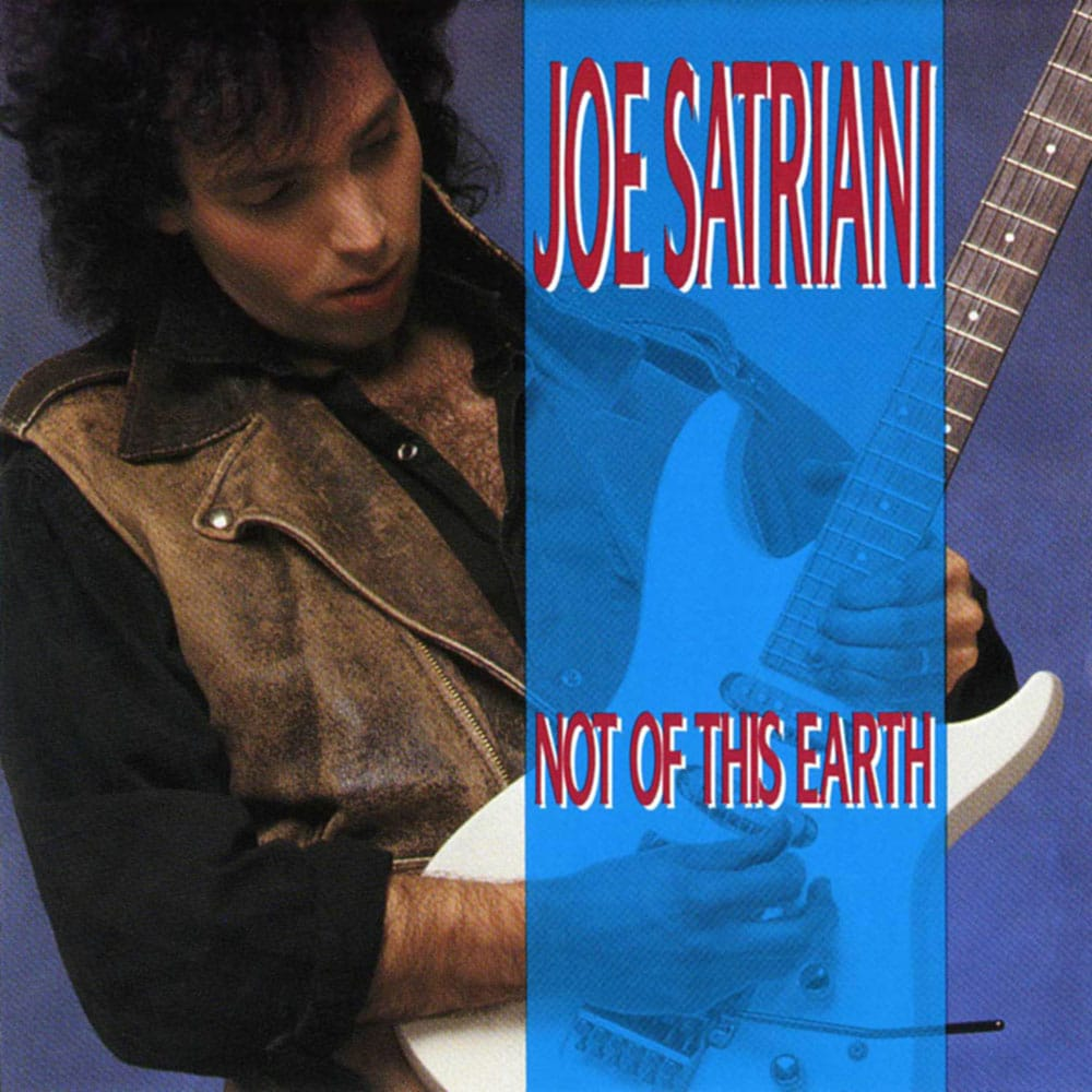 Not Of This Earth Joe Satriani 1986 album CD