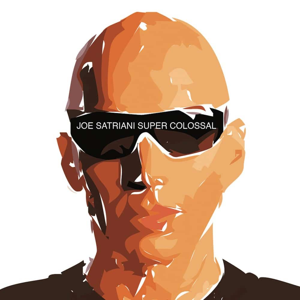 Super Colossal Joe Satriani 2006 album CD