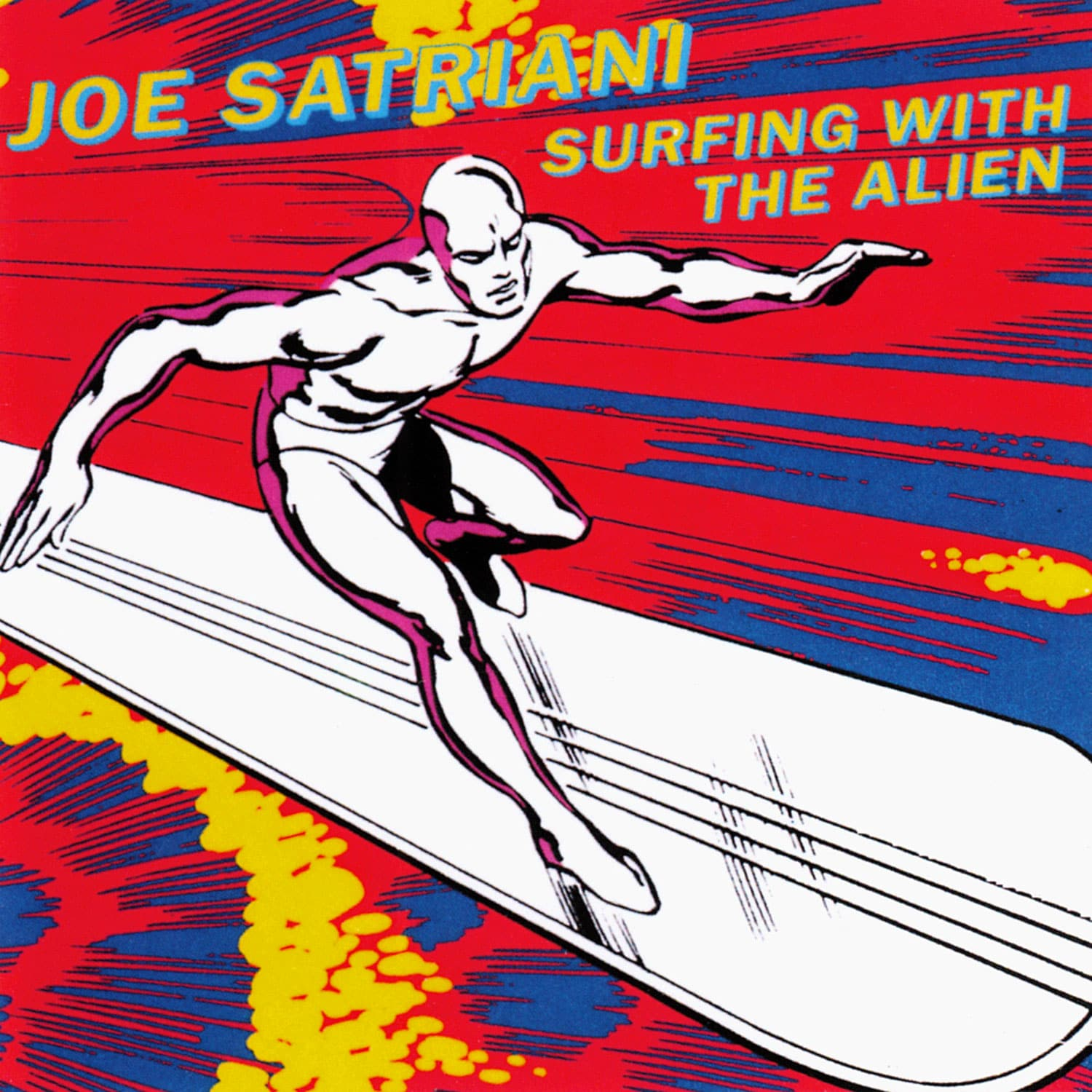 Surfing With The Alien Joe Satriani 1987 album CD
