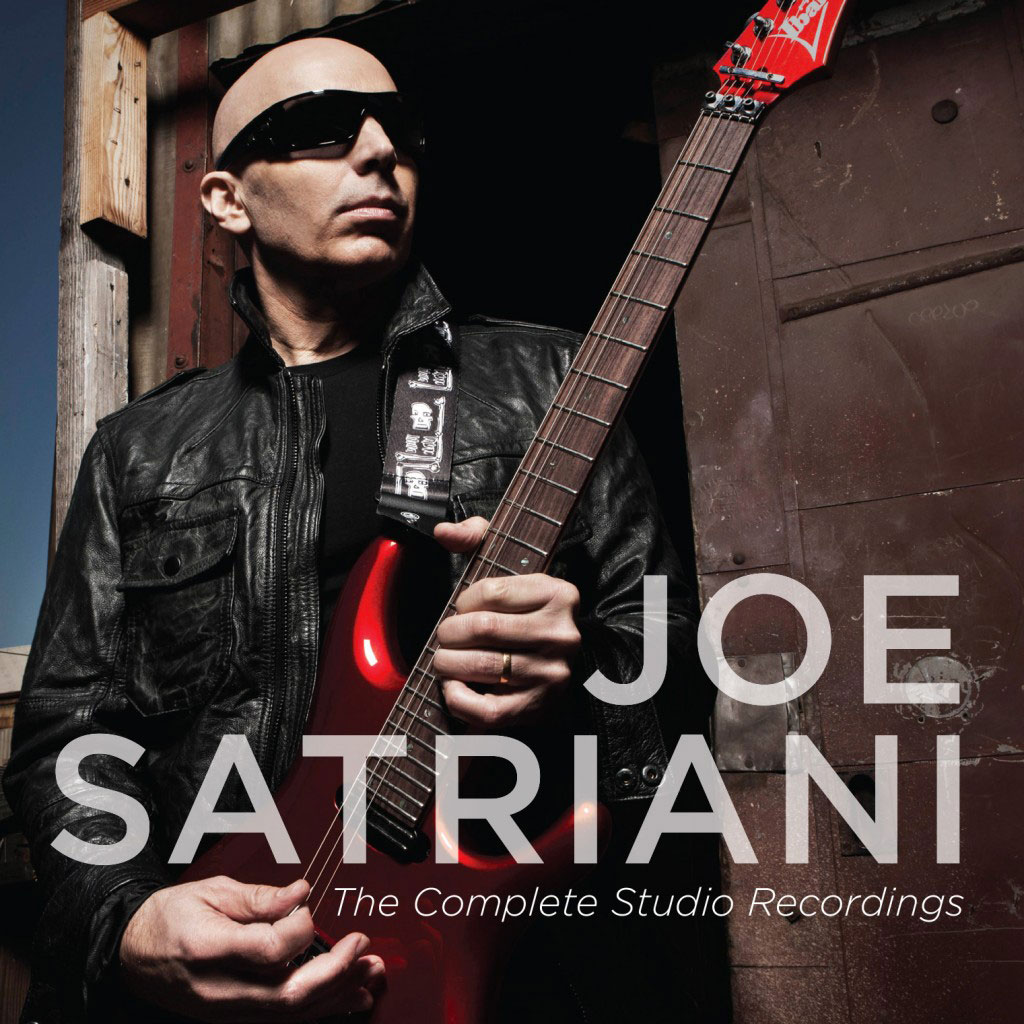 The Complete Studio Recording Joe Satriani CD