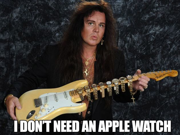 apple watch yngwie malmsteen