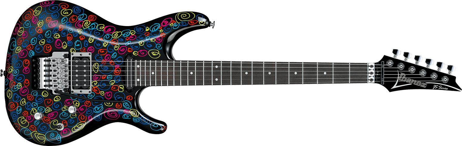 Ibanez js25art signature joe satriani 25th anniversary