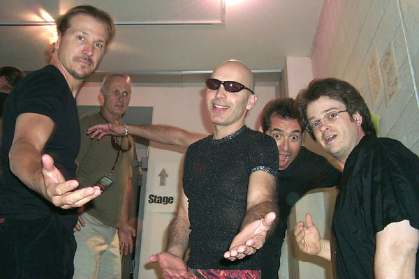 Joe Satriani Matt Bissonnette Galen Henson Jeff Campitelli Mick Bridgen