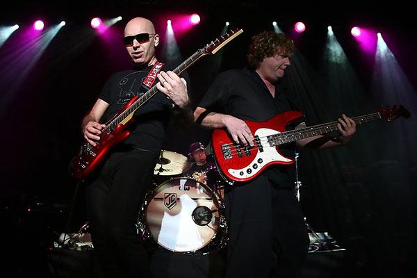 Joe Satriani Stu Hamm Jeff Campitelli