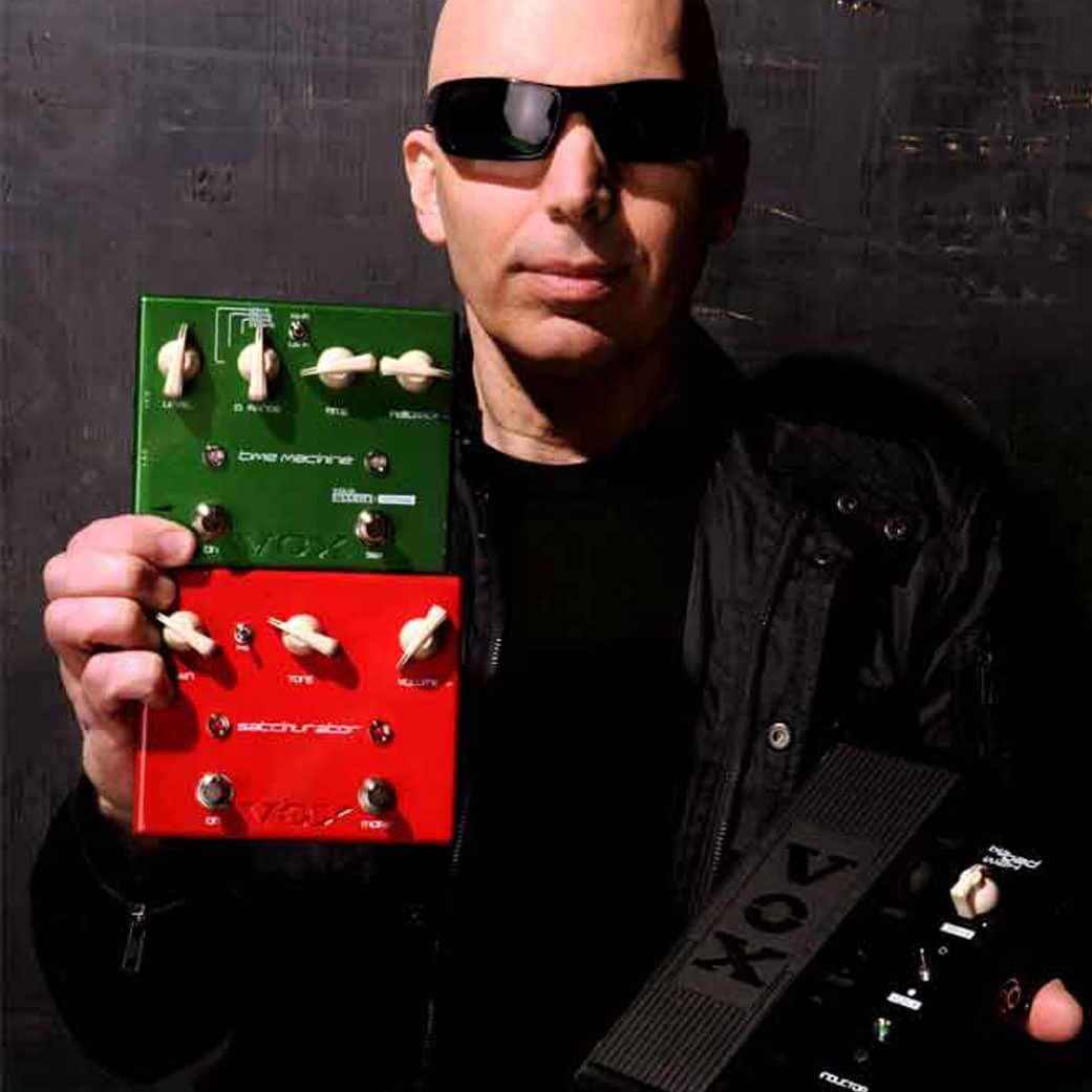 Vox Pedals signature Joe Satriani