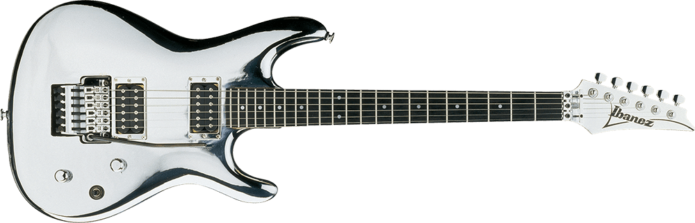 ibanez js2 signature joe satriani chrome