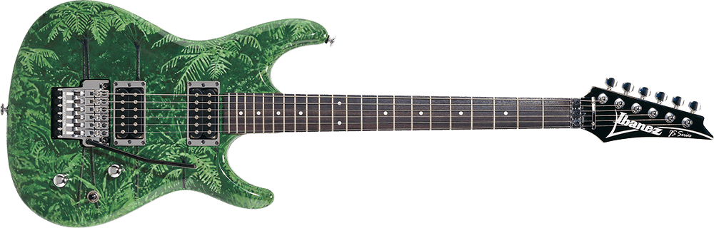 ibanez js5 signature joe satriani rainforest