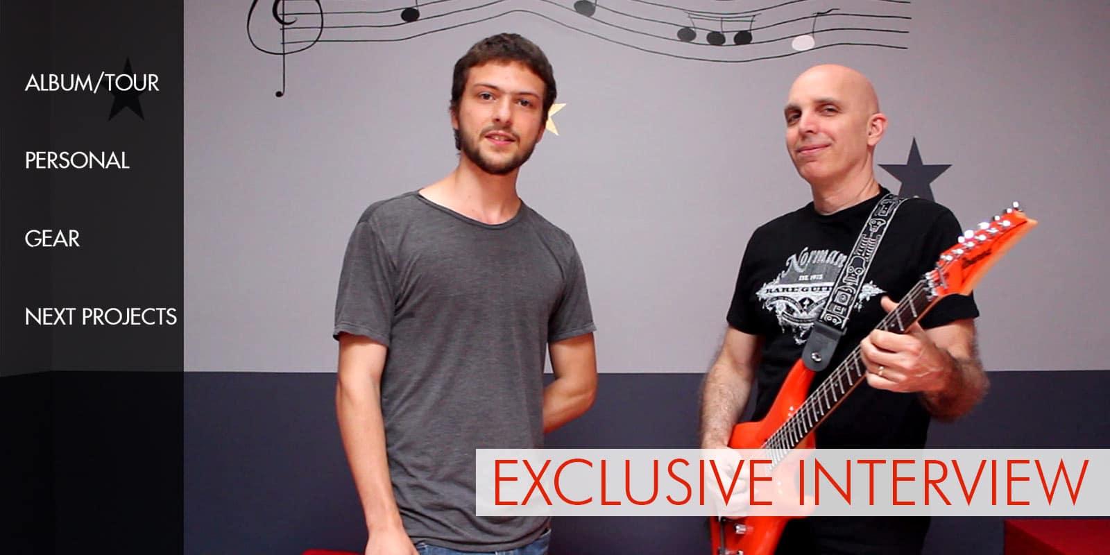 Exclusive Joe Satriani Interview 2014