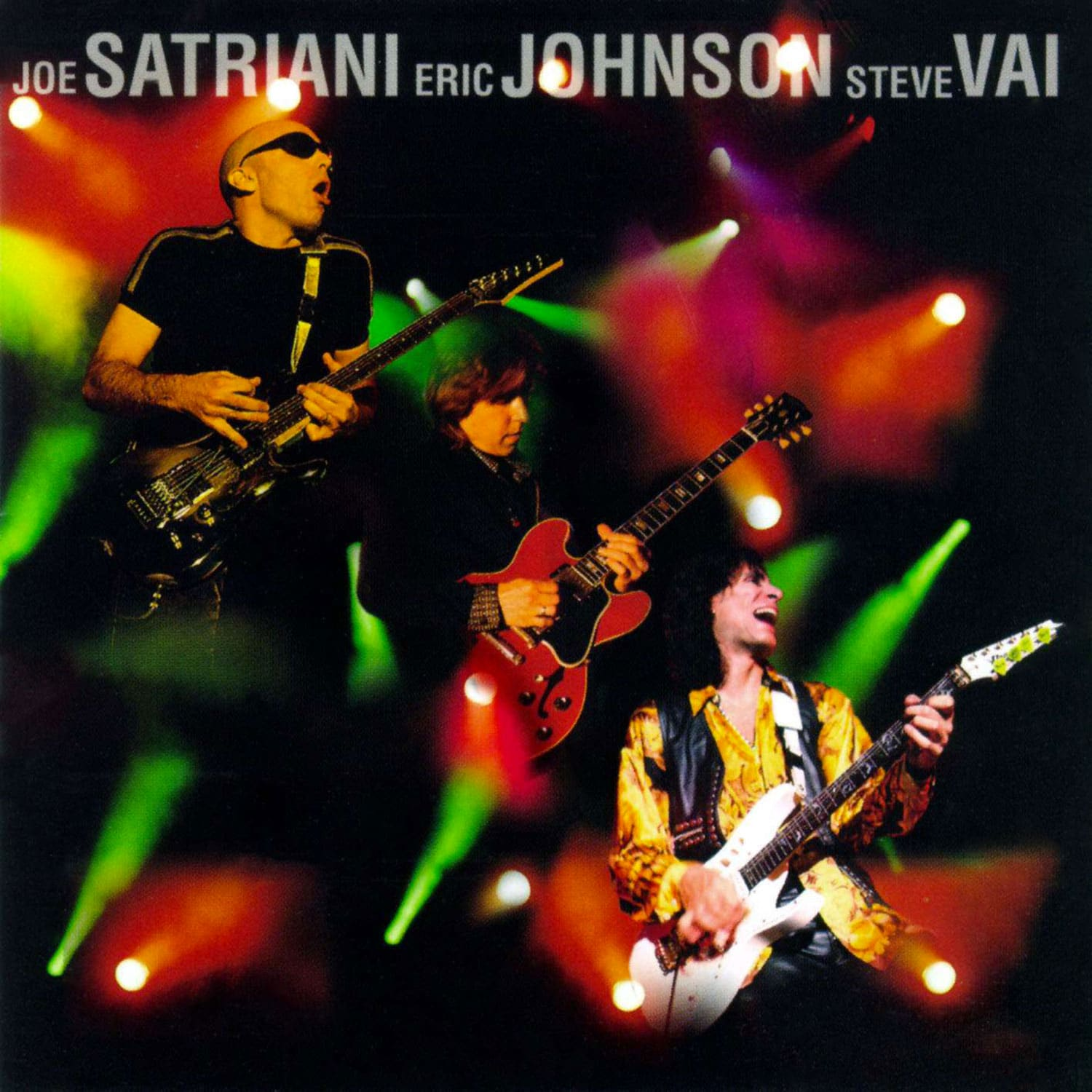 G3 Live in Concert Joe Satriani Steve Vai Eric Johnson 1996