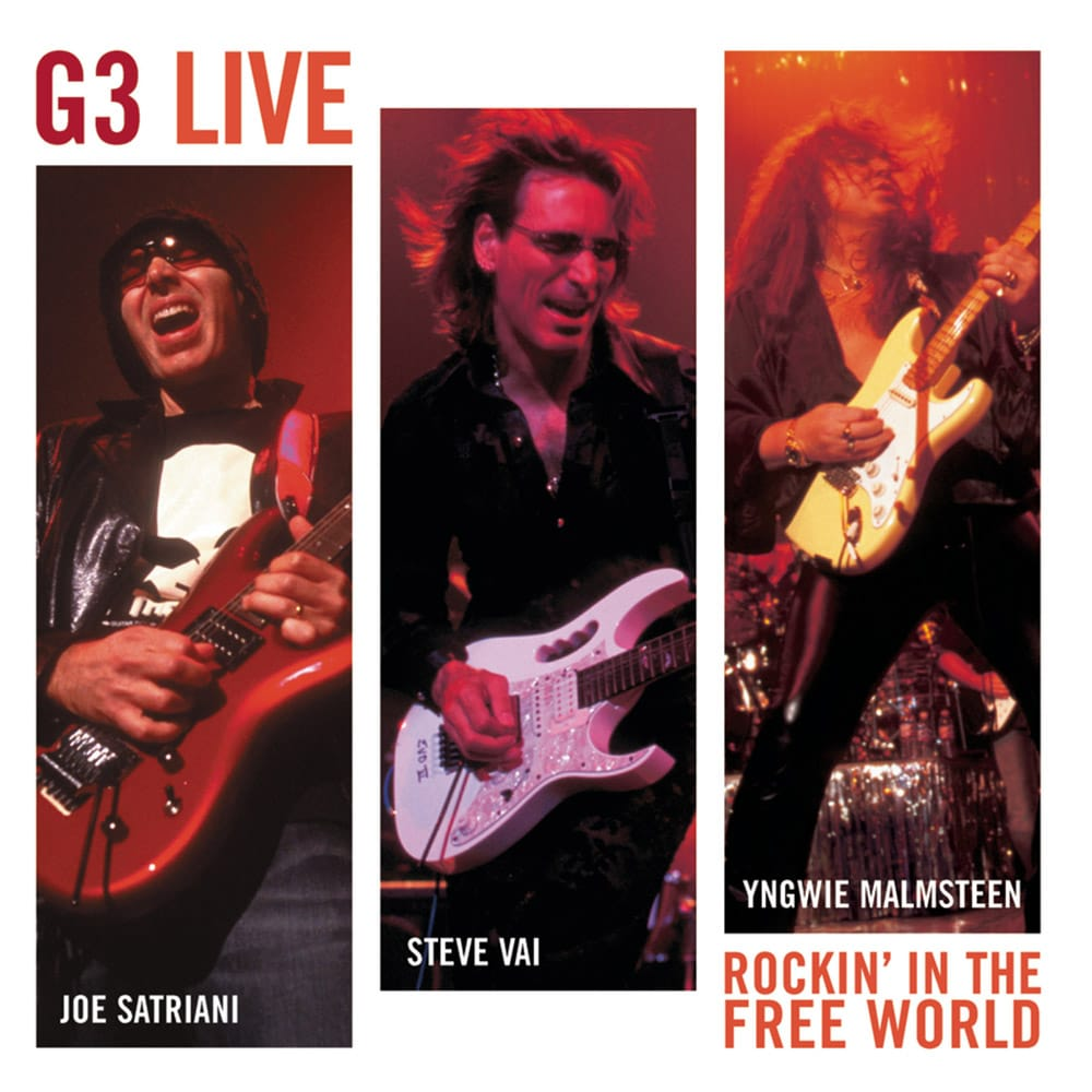 G3 rockin in the free world live CD Joe Satriani Steve Vai Yngwie Malmsteen 2004