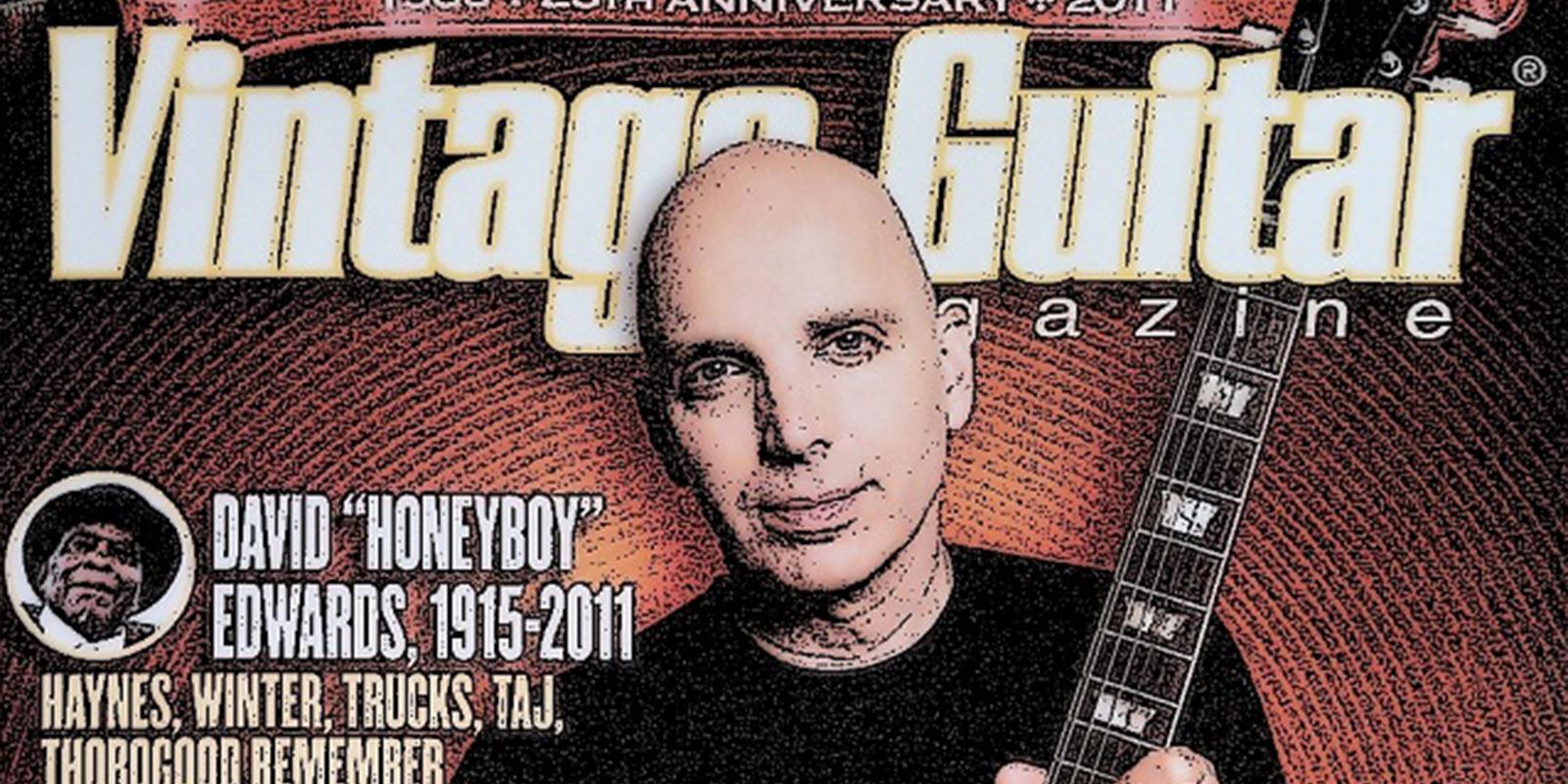 Interview Joe Satriani Vintage Guitar Magazine