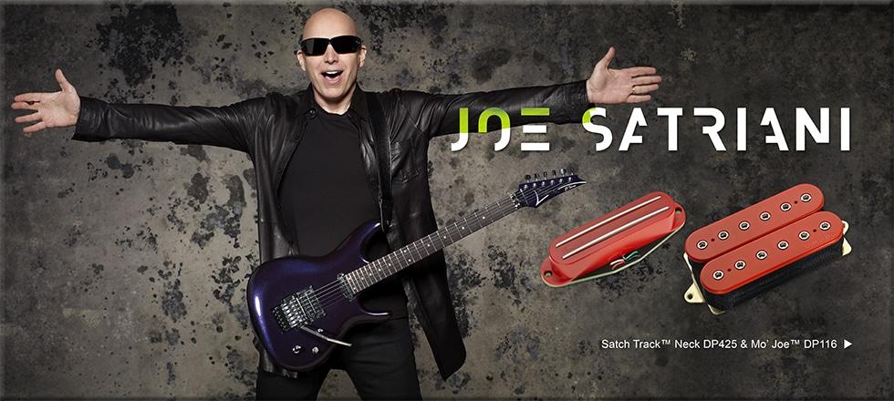 DiMarzio pickups – Joe Satriani Wiring Diagram