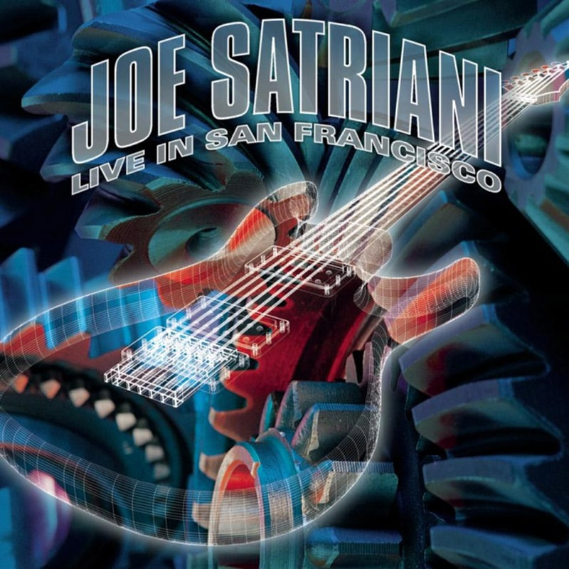 Joe Satriani Live In San Francisco 2001 CD