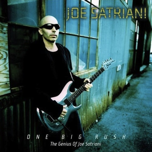One Big Rush The Genius Of Joe Satriani 2005 compilation CD