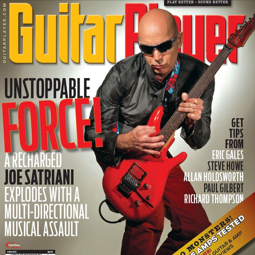 pictures picture photos photo joe satriani guitar player magazine photoshoot review