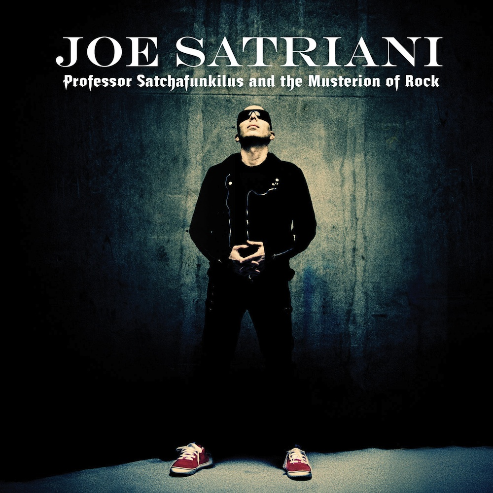 Professor Satchafunkilus And The Musterion Of Rock Joe Satriani 2008 album CD
