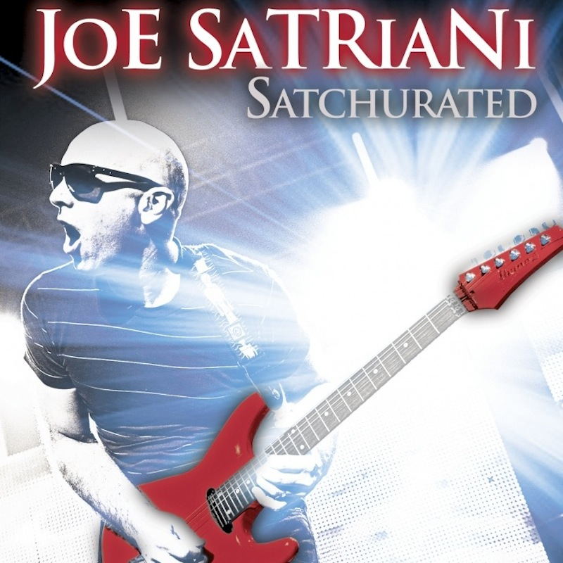 Satchurated Joe Satriani live montreal 2012 album CD