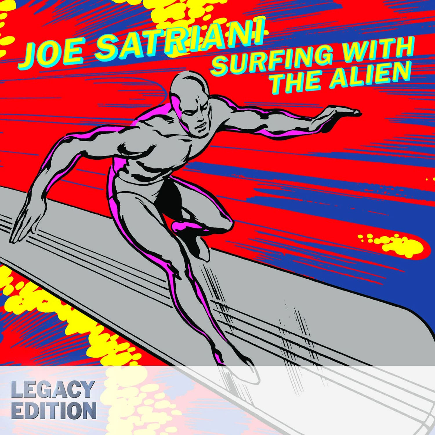 Surfing With The Alien Legacy 20th Joe Satriani Universe