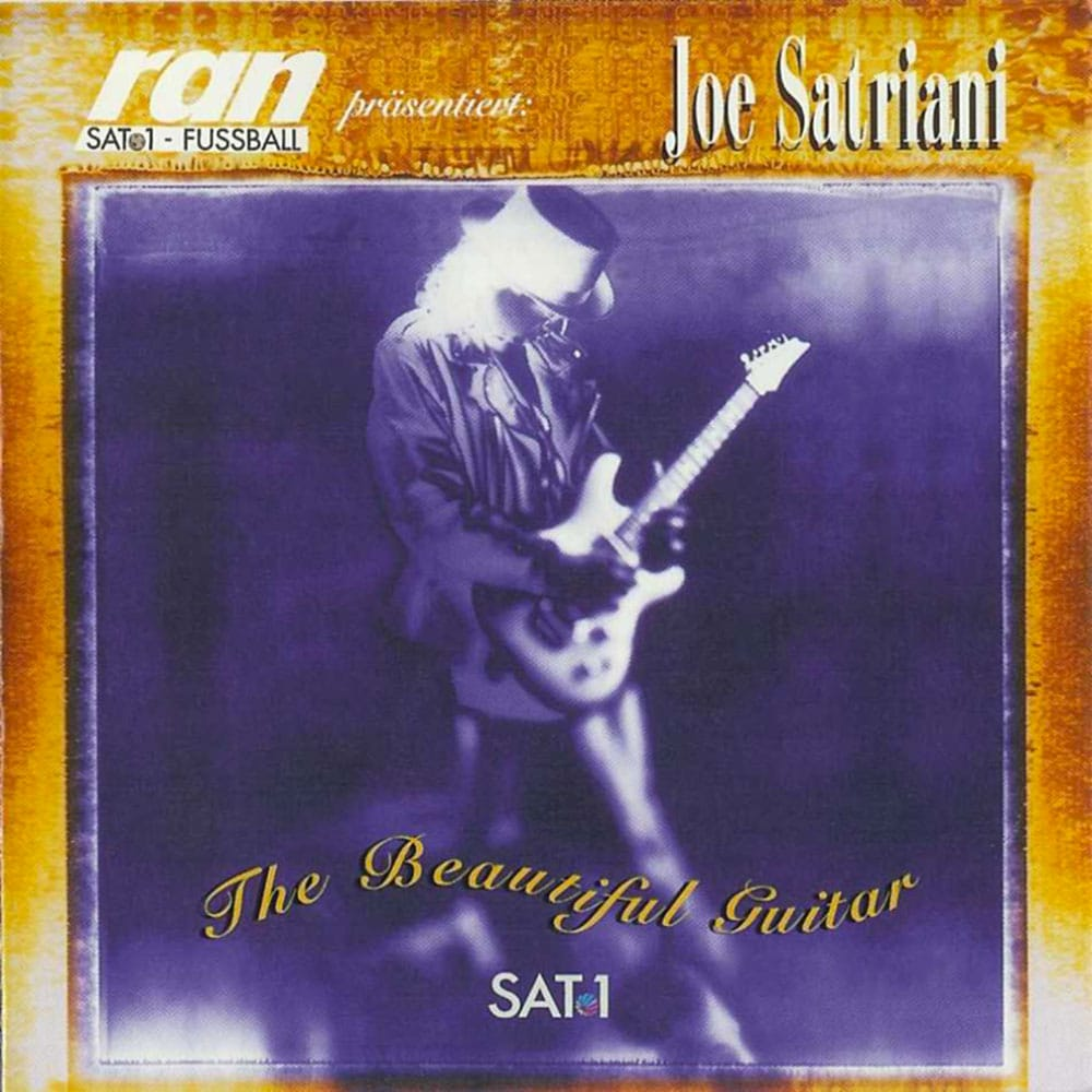 The Beautiful Guitar Joe Satriani 1993 compilation CD