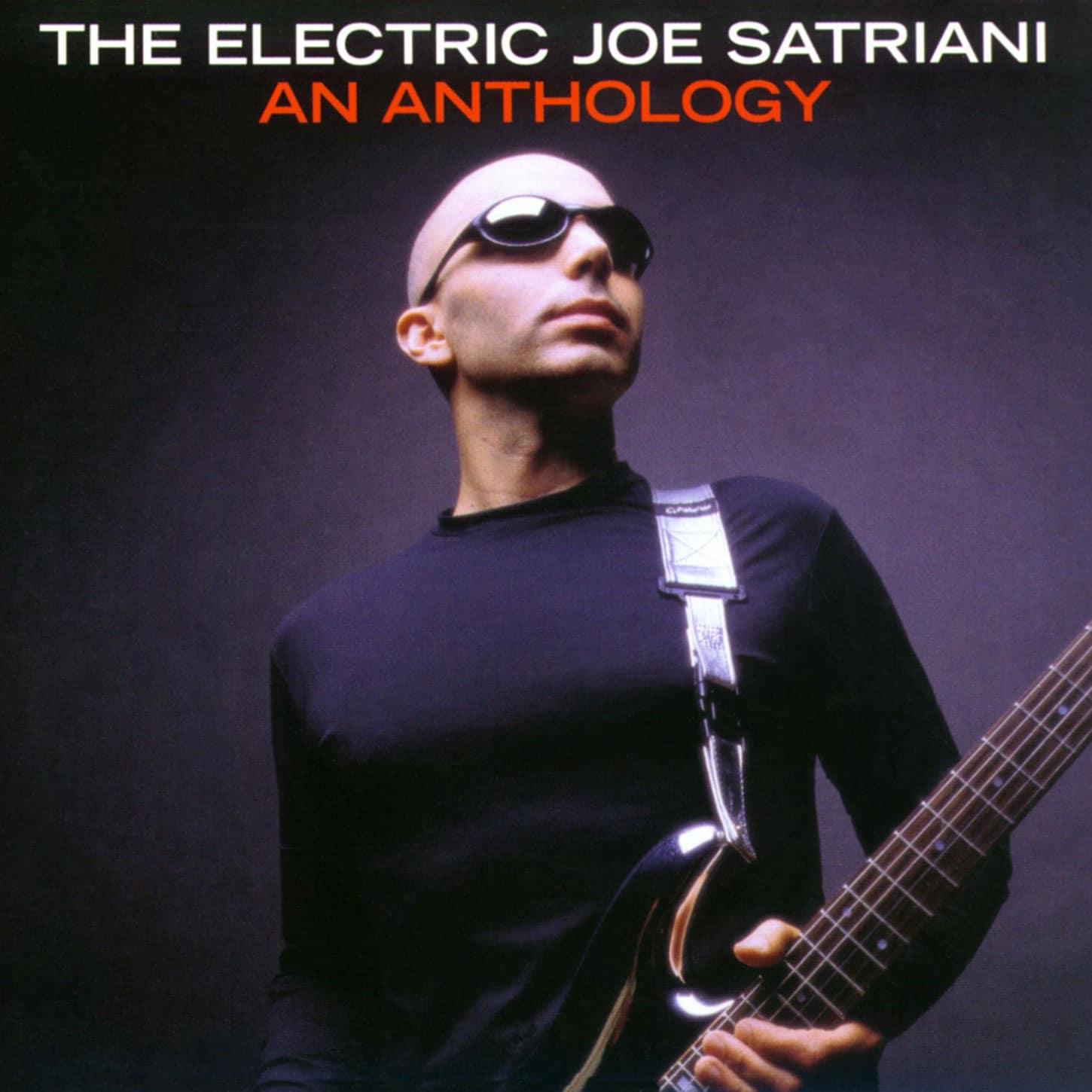 The Electric Joe Satriani An Anthology album CD
