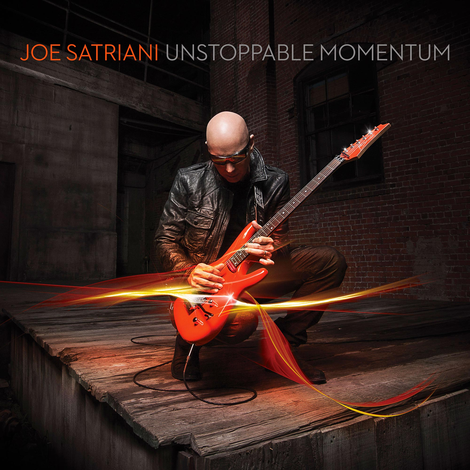 Joe Satriani Unstoppable Momentum 2013 album CD