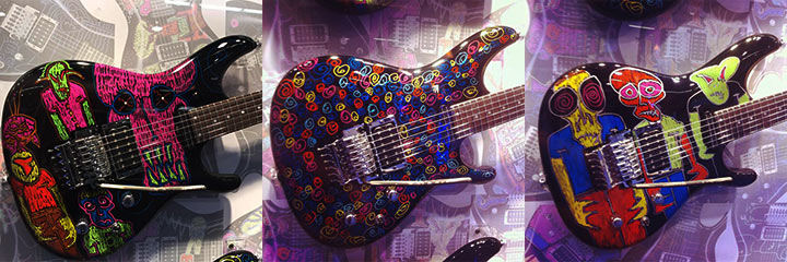 Ibanez JS25art custom shop