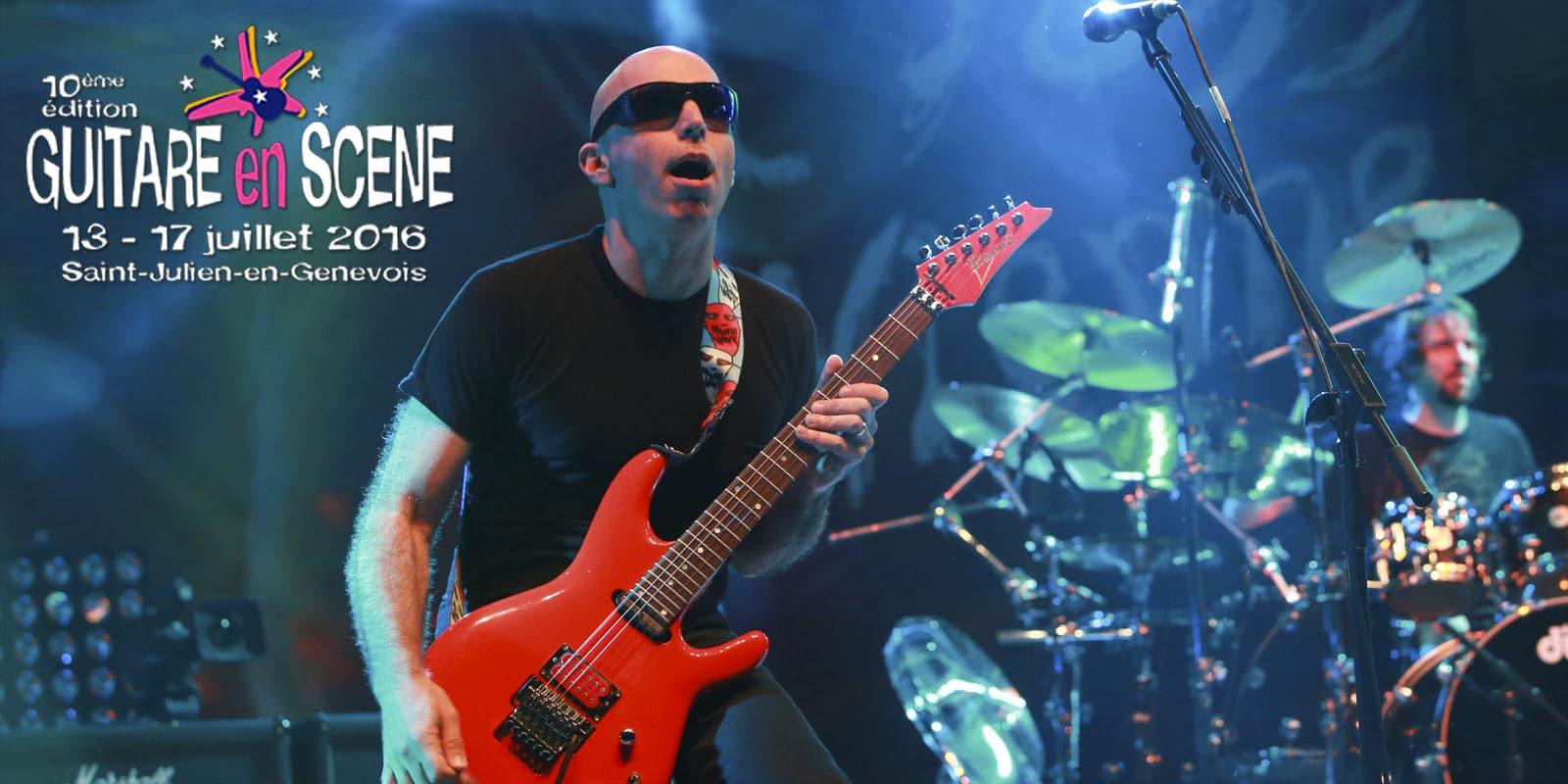 joe satriani 60 birthday guitare en scene festival