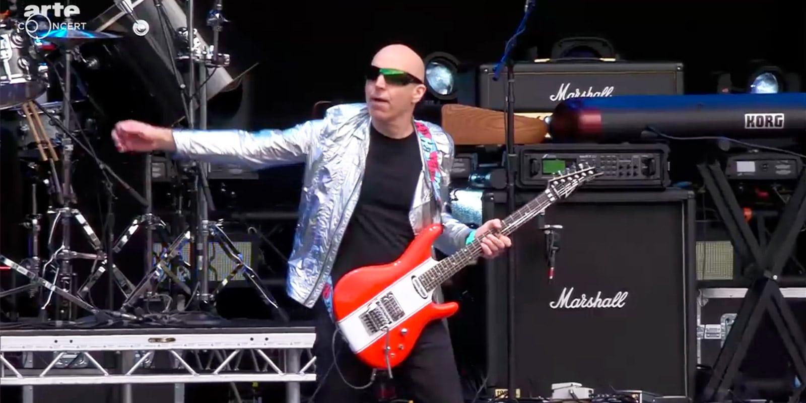 joe satriani hellfest live 2016